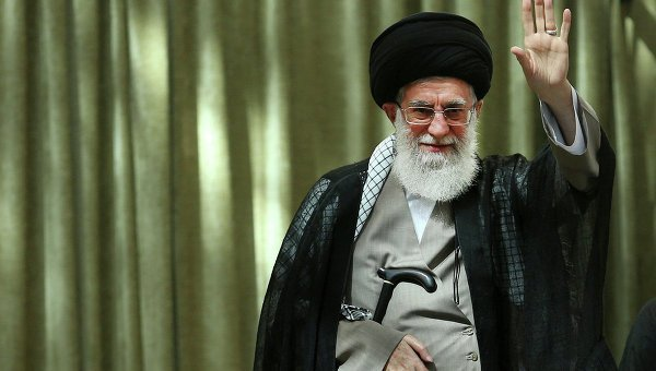 © AP Photo/ Office of the Iranian Supreme Leader