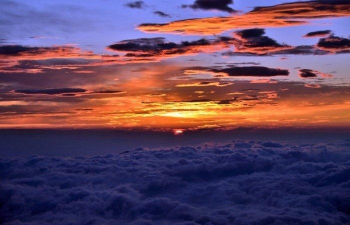Goraiko (sunrise) seen