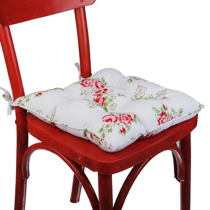 Фото подушки для стульев своими руками