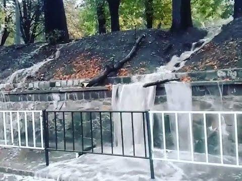 Львов ушел под воду в считаные секунды