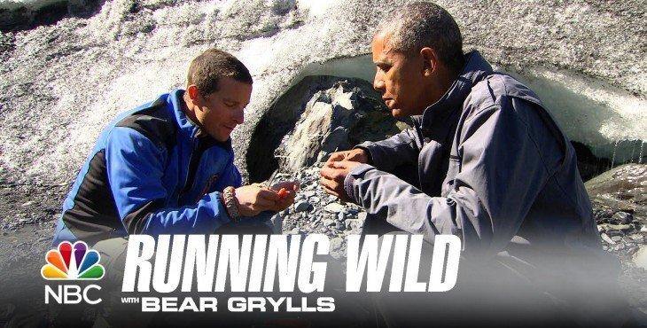 Выжить любой ценой: Барак Обама доел лосося за медведем