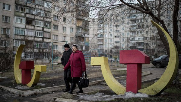 © AP Photo/ Evgeniy Maloletka