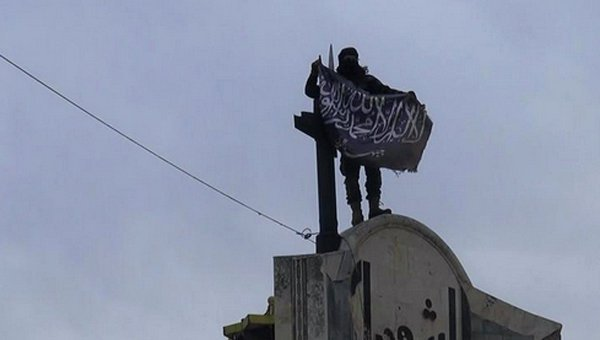© AP Photo/ Nusra Front on Twitter