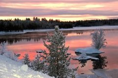Зимние ночи знаменовали переход к ночному времени года (Фото: Cyril PAPOT, Shutterstock)