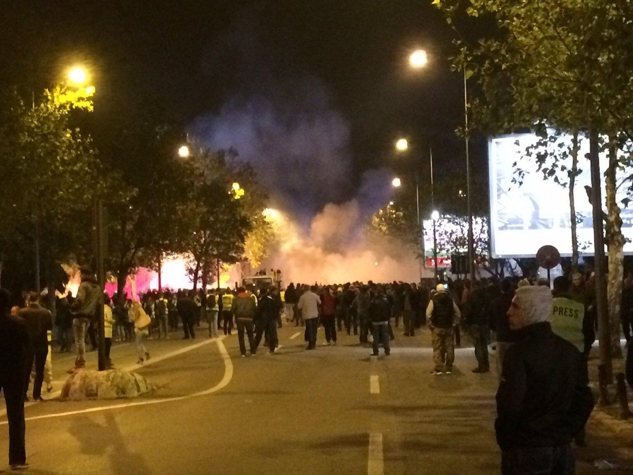 © РИА Новости. Николай Соколов Разгон оппозиции в Подгорице