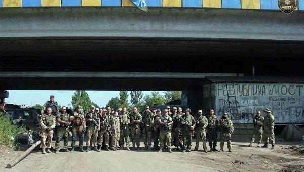 "Facebook батальона ""Днепр-1"""