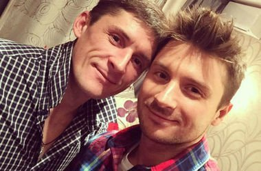 Сергей Лазарев с братом. Фото: Instagram