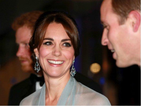 Фото: East News\Splash Кейт Миддлтон явно радовалась выходу в свет