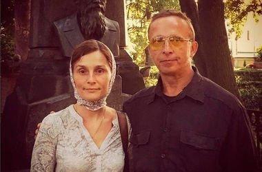 Иван Охлобыстин с женой Оксаной Арбузовой. Фото: instagram