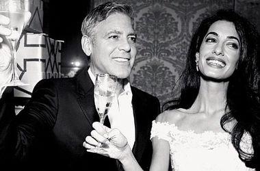 Джордж Клуни и его жена Амаль Аламуддин. Фото: instagram.com/theclooneys