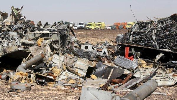 ФСБ: на борту A321 в полете сработало самодельное взрывное устройство
