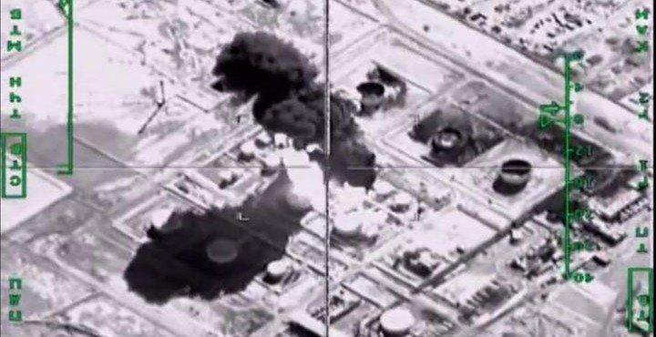 Американские СМИ выдали видеозапись ударов ВКС РФ в Сирии за действия авиации США