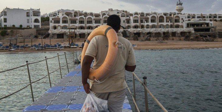 туристов в Египте нет
