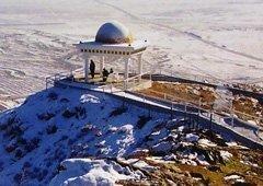 Терраса в верхней точке «Тропы здоровья Вождя» (высота 1040 м над уровнем моря)
