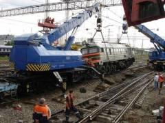 Ликвидация последствий серьёзных аварий на железной дороге была и остаётся основной задачей восстановительных поездов