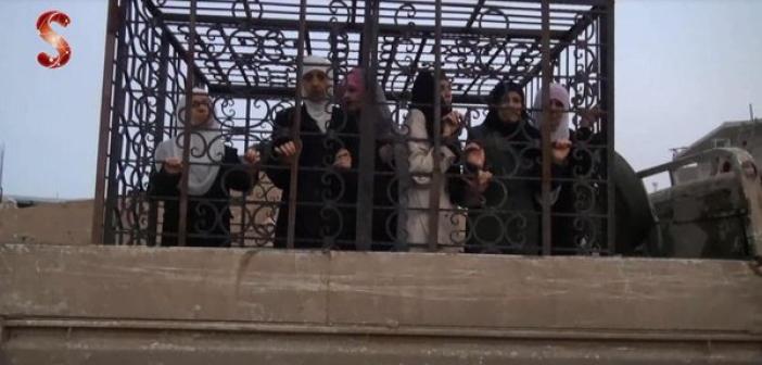 боевики прикрываются женщинами