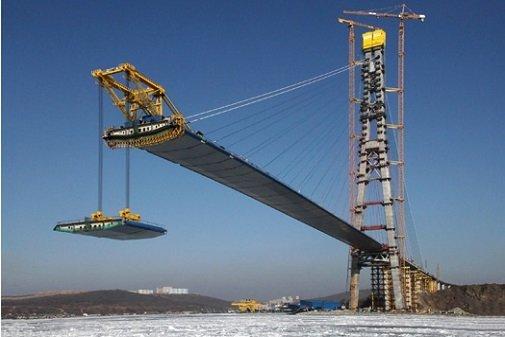 Постройка моста через керченский пролив идет по плану