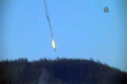 Турция сбила российский самолёт Су-24 хроника событий видео онлайн.