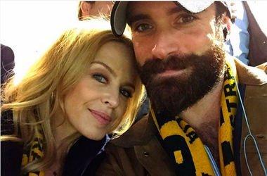 47-летняя Кайли Миноуг с 27-летним актером Джошуа Сассом. Фото: Instagram