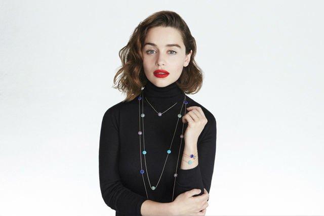 Эмилия Кларк в рекламной кампании Dior Фото: архивы пресс-служб