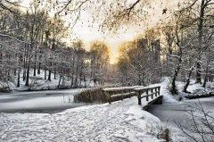 В это время на реках и озерах вставал лед (Фото: Symbiot, Shutterstock)