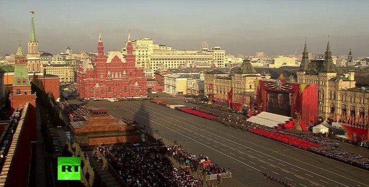 Парад на Красной площади в Москве — прямая трансляция. Видео.