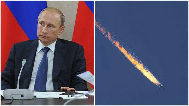 Песков рассказал о состоянии Путина после крушения российского Су-24