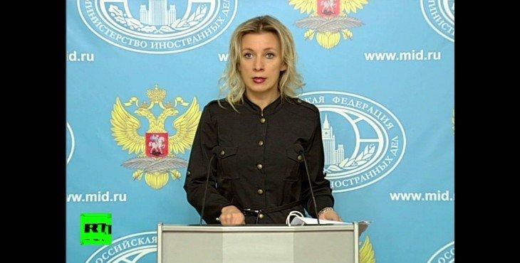 «Вы что, с ума сошли?»: пять цитат Марии Захаровой о сбитом Су-24, которые нельзя пропустить