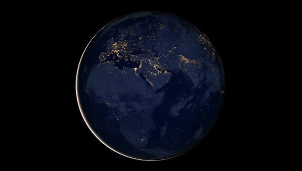 © NASA/ Earth Observatory/Robert Simmon