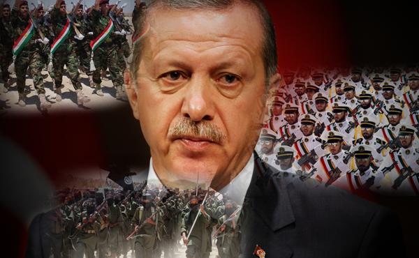 Эрдоган применяет насилие против курдов