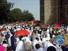 Торжественная процессия в церковь святого Гавриила