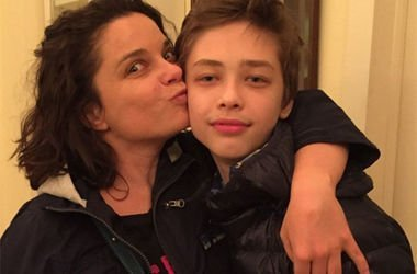 Наташа Королева с сыном. Фото: Instagram