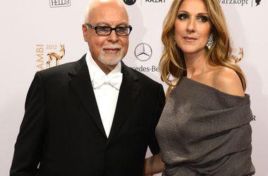 Селин Дион с мужем. Фото: AFP