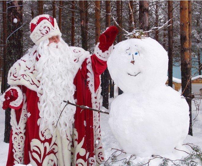 Фото: пресс-служба российского Деда Мороза