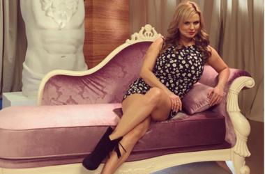 Анна Семенович на отдыхе. Фото: instagram/ann_semenovich