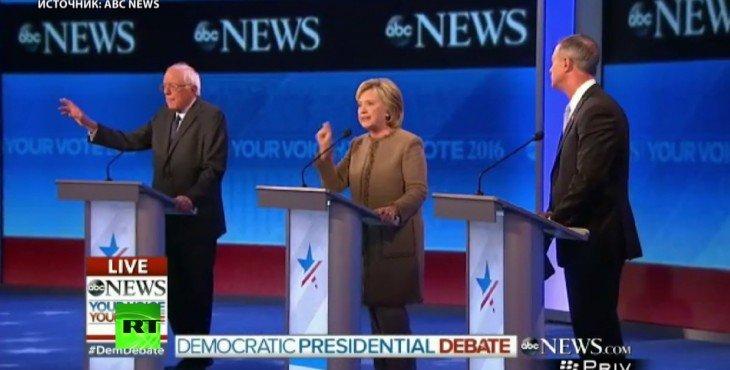 Президентские выборы в США: между кандидатами от демократов разгорелся спор о внешней политике