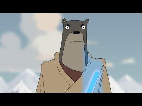 Звездные войны: пробуждение медведя. Видео юмор.