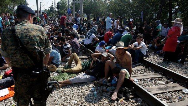 границы в Македонии хотят укрепить еще больше