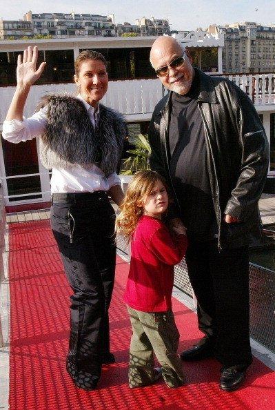 Селин с мужем и сыном Рене-Шарлем в 2005 году, Фото: Getty Images