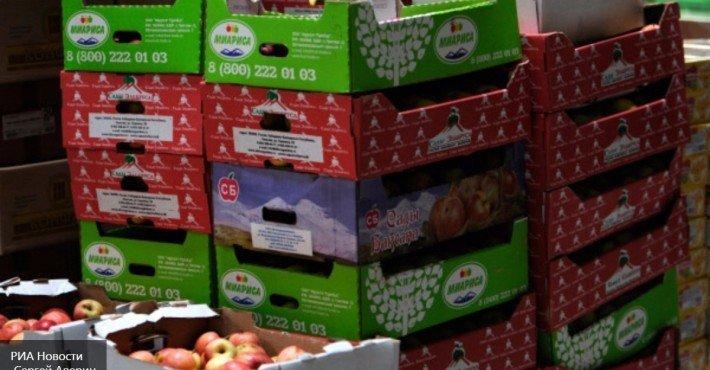 санкционные фрукты уничтожены