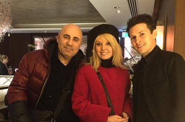 Иосиф Пригожин, Валерия и Павел Дуров. Фото: Instagram