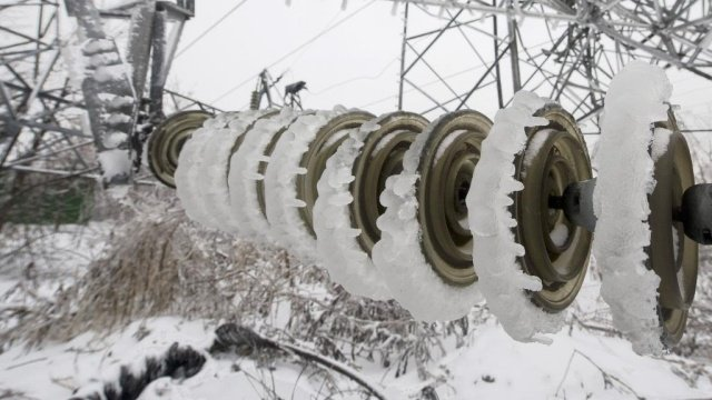 из-за снегопада в Сочи отключалось электричество