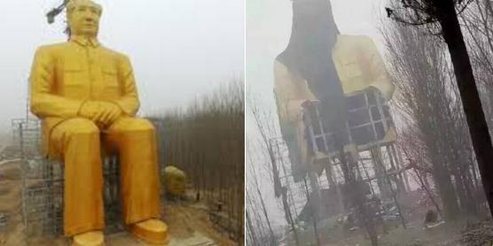 demontazh-statui-mao-tszeduna