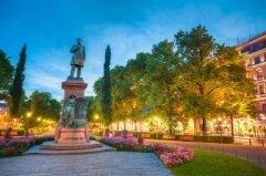 Памятник Рунебергу в Хельсинки, Финляндия (Фото: Grisha Bruev, Shutterstock)