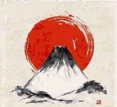 Один из символов Японии — гора Фудзи (Фото: Elinalee, Shutterstock)