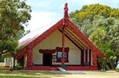 Внешний вид дома маори (Фото: KIS, Shutterstock)