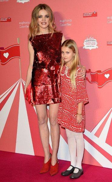 Наталья Водянова с дочерью Невой, Фото: Getty Images