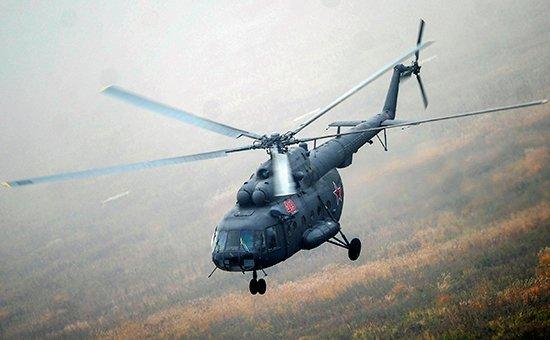 вертолет Ми-8 разбился