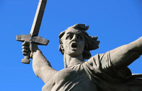 памятник в Волгограде станет известным на весь мир