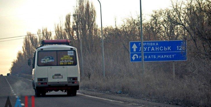 автобус подорвался на украинской мине